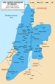 Biblical Map Of The Middle East by Kingdom Of Israel United Monarchy Wikipedia