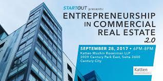 startout la presents entrepreneurship in commercial real estate
