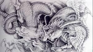 dragon tattoo sketch youtube