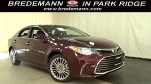 lexus or toyota avalon new 2018 toyota avalon limited for sale park ridge il