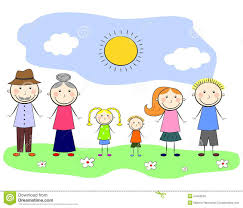 my family stock vector image 54495658