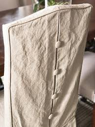 linen dining chair covers photo page hgtv