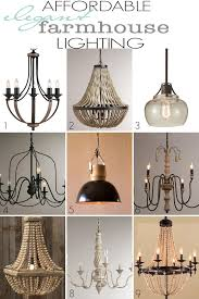 Affordable Chandelier Lighting Affordable Farmhouse Lighting Farmhouse Style