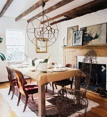 ceiling beams stone shake and paneling ohh my