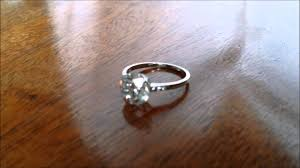 engagement ring sale deco 2 24ct and 18k white gold engagement ring for