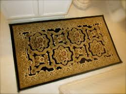 Bathroom Rug Ideas by Black And Gold Bathroom Rugs Kit4en Com