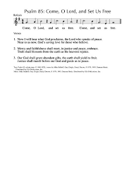Love Is An Open Door French Lyrics - singing from the lectionary