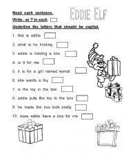 english teaching worksheets punctuation