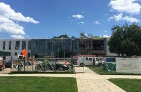 Fairfield University Campus Map Fairfield University U0027s Barone Campus Center Construction Progress