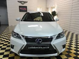 lexus white pearl second hand lexus ct 200h 1 8 advance 5dr cvt hybrid auto for sale