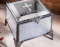 baptism jewelry box religious box etsy