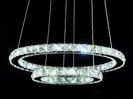 Led Pendant Lights Kitchen by K9 Crystal Led Pendant Lights Kitchen Lighting Pendants Round Ring