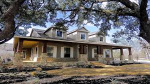 hill country house plans with wrap around porch youtube