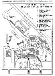 Sacramento State University Map by Campus Maps Facilities Management Western Michigan University