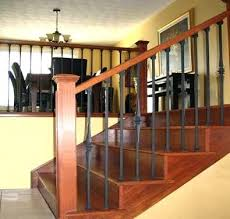 Banister Railing Concept Ideas Wrought Iron Indoor Railing Amazing Of Banister Railing Concept