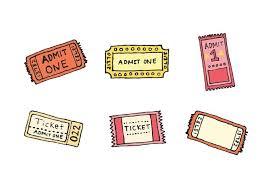 concert ticket template sarina concert tickets