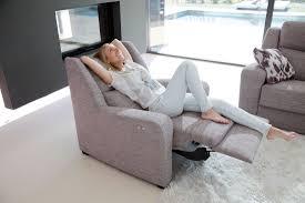 contemporary sofa recliner sectional recliner sofa altea famaliving montreal