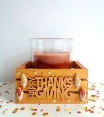 easy thanksgiving day candle holder table decor