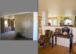 Mobile Home Interior Paneling Interior Designers U0027 Mobile Home Remodeling Photos