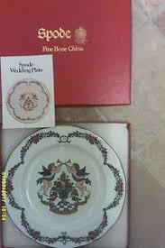 25th wedding anniversary plate spode 25th wedding anniversary plate boxed mint ebay