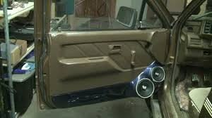 lexus isf door panel new zapco i force speakers in custom fiberglass door panels sound