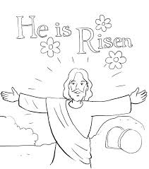 coloring pages for nursery lds lds color pages coloring pages about he is risen in resurrection