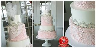 silver wedding cakes deco wedding cake bohemian bakery atlanta premiere wedding cakes