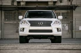 lexus large suv lx570 almost beats everyone in motor trend s large luxury suv