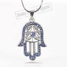 amazon com hamsa necklace evil eye jewelry for success and
