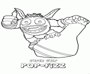 skylanders coloring pages free printable