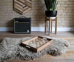 wood serving tray wood tray reclaimed wood decorative tray