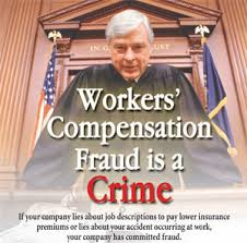 Workers Comp Meme - workers compensation fraud is a crime corporate work comp fraud