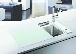 sink covers for more counter space the blanco crystalline sink incorporates such a simple idea cover