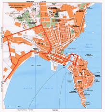Italy City Map by Catania Map