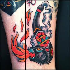 traditional bear tattoo minneapolis tattoo shop in mn