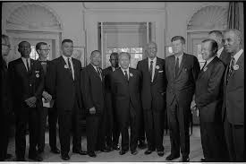 civil rights leaders meet with president john f kennedy u2026 flickr