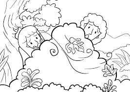 bible stories coloring page getcoloringpages com