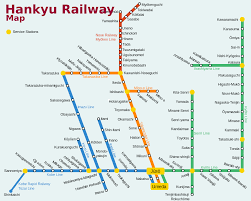 Osaka Subway Map by Hankyu Takarazuka Main Line Wikipedia
