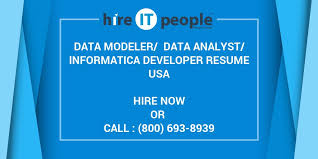 Sample Informatica Etl Developer Resume by Data Modeler Data Analyst Informatica Developer Resume Hire It