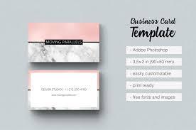 vertical photographer business card by design bundles