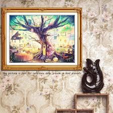 Fairy Home Decor Full Drill Diamond Painting Set Diy Handmade Fairy Tree House
