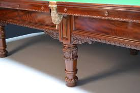 Wood Pool Table Antique Billiard Snooker Or Pool Table Circa 1830 At 1stdibs
