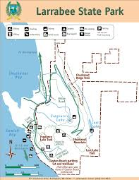 Washington State Mountains Map by Larrabee State Park Map Larrabee State Park Wa U2022 Mappery