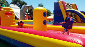 cape cod inflatable park 6 6 30 16 youtube