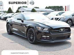Mustang 2015 Gt Black Ford Mustang Gt Arkansas 12 Black Automatic Ford Mustang Gt Used