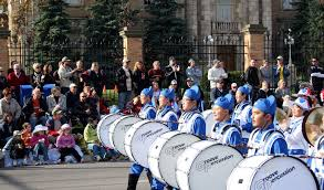 canada spectators impressed by land marching band s