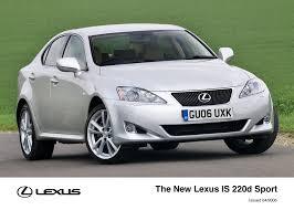 lexus is220d uk is archive lexus uk media site