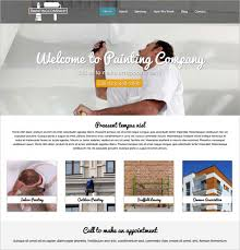 12 painting company wordpress templates u0026 themes free u0026 premium