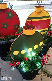 Metal Outdoor Decorations For Christmas by Outdoor Christmas Decorations With Oriental Trading