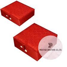 wedding gift box silk gift box with brocade silk for jewelry wedding gift